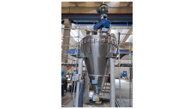 3V Tech Cogeim Vertical Dryer Retrofit Revamping